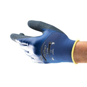 Ansell HyFlex 11-925 Double Nitrile-Coated Oil-Repellent Gloves