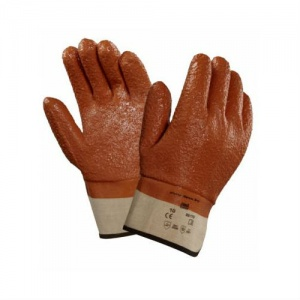 Ansell 23-173 Winter Monkey Grip Thermal-Lined Vinyl-Dipped Work Gloves