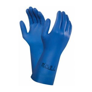 Ansell Virtex 79-700 Blue Nitrile Gauntlet Gloves