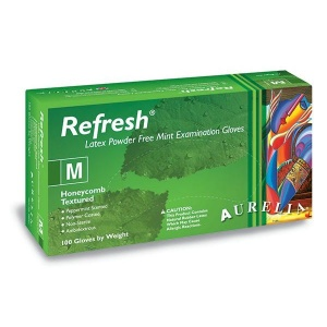 Aurelia Refresh Medical Grade Latex Gloves 99225-9