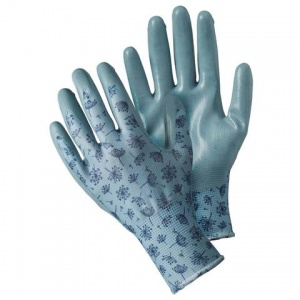 Briers Allium Blue Seed and Weed Gardening Gloves B8688