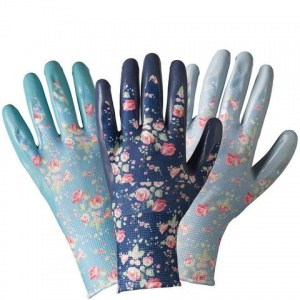 Briers Julie Dodsworth Flower Girl Seed and Weed Gardening Gloves (Pack of 3 Pairs) B6891