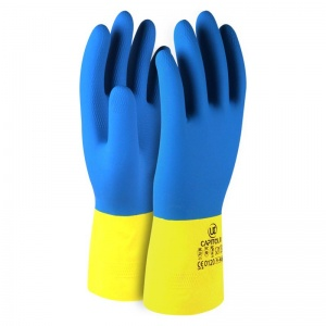 Capitol II Double-Dipped Rubber Gloves