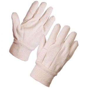 Supertouch Cotton Drill Gloves - 8oz 24003