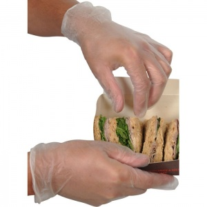 UCI DG2VC Disposable Vinyl Food Use Gloves