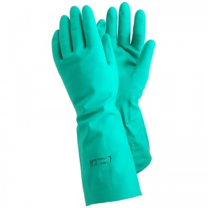 Ejendals Tegera 48 Extra Long Nitrile Chemical Resistant Gloves