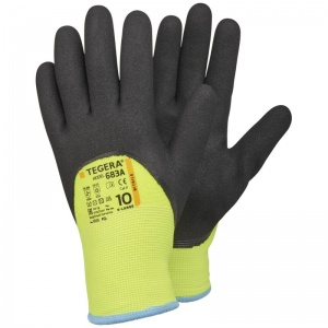 Ejendals Tegera 683A High Visibility Heavy Work Gloves