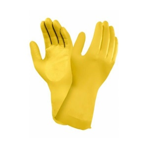Ansell AlphaTec 87-086 Chemical Rubber Food Gauntlet Gloves