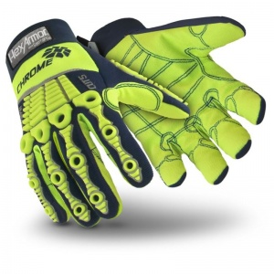 HexArmor Chrome Series Hi-Vis Cut-Resistant Wet Grip Gloves 4027