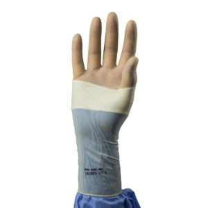 iNtouch Slide Damp Donning Latex Surgical Gloves
