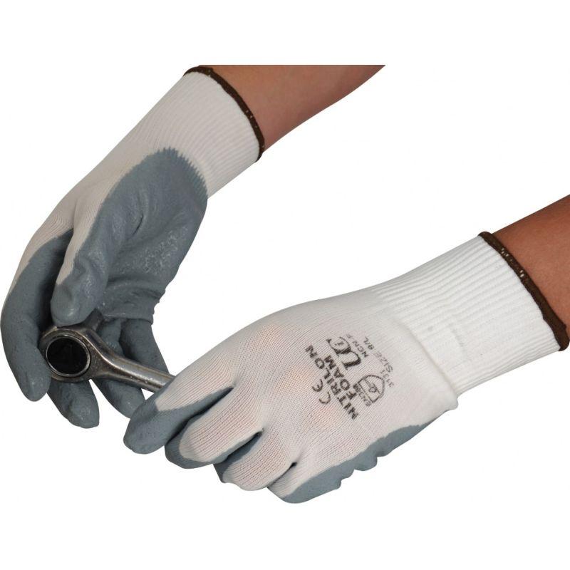 UCI Adept Ultra F Nitrile Foam Palm Coated Waterproof Grip Work Gloves