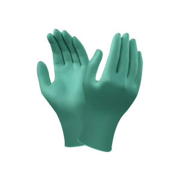 Ansell TouchNTuff 92-600 Disposable Powder-Free Nitrile Gloves