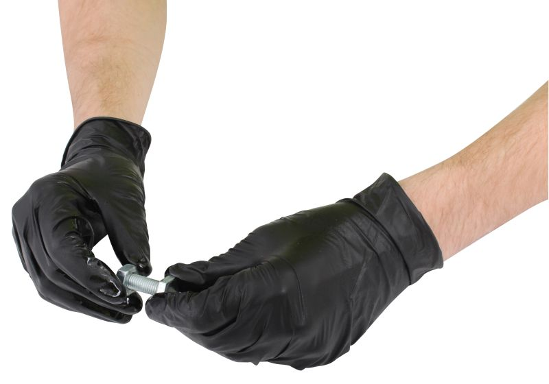 Blackrock Heavy Duty Powder-Free Disposable Nitrile Gloves HDPFNG100