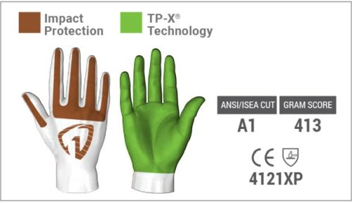 Impact Protection of the 2131 Gloves