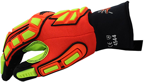 HexAmor GGT5 Mud Grip 4021X Gloves Close Up Side View