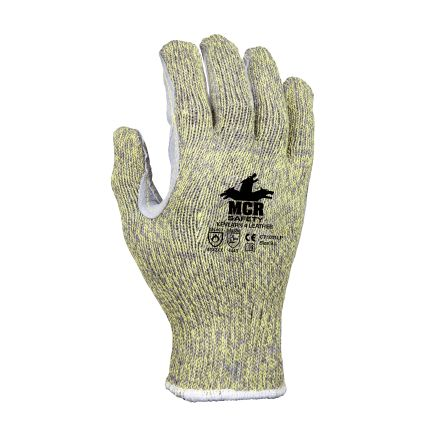 MCR Safety CT1011LP Kevlar Leather Palm Cut Resistant Gloves