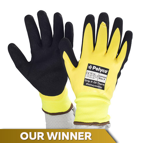 Polyco Oil Gloves Offer Waterproof and Thermal Design