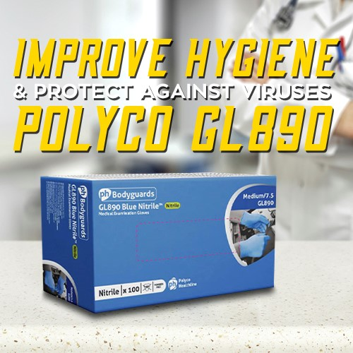 Protect Against Viruses with the Polyco GL890 Virus Protection Gloves