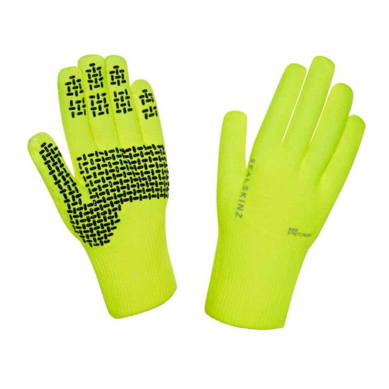 SealSkinz Ultra Grip Hi-Vis Gloves 121161701701