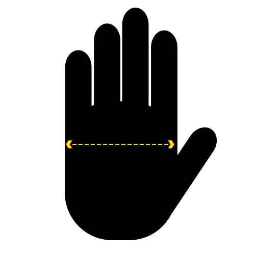 Safety Gloves Sizing Information Guide