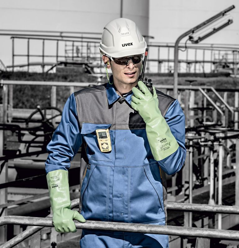 Improve Your Grip with the Uvex Rubiflex S NB35S Chemical-Resistant Gloves