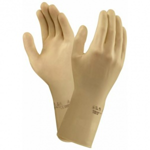 Marigold Industrial AlphaTec 87-137  Chemical-Resistant Textured Gauntlet Gloves