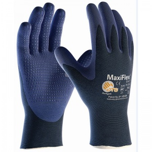 MaxiFlex Elite Handling Gloves with Dotted Coated Palm 34-244 (Pack of 12 Pairs)