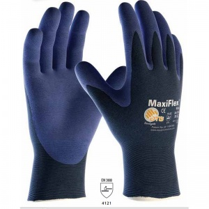 MaxiFlex Elite Palm-Coated Handling Gloves with Knitwrist 34-274 (Pack of 12 Pairs)