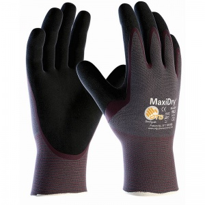 MaxiDry Palm-Coated Oil-Resistant Gloves 56-424