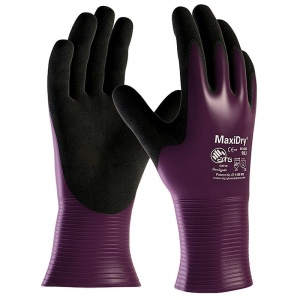 MaxiDry Oil-Resistant Gauntlet Gloves 56-426 (Pack of 12 Pairs)