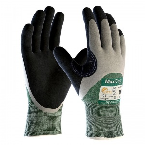 MaxiCut Oil Resistant Level 3 3/4 Coated Grip Gloves 34-305 (Pack of 12 Pairs)