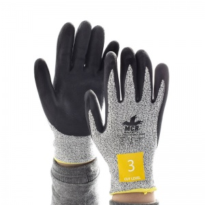 MCR Safety CT1007NF1 Nitrile Foam Cut Pro Palm Coated Safety Gloves