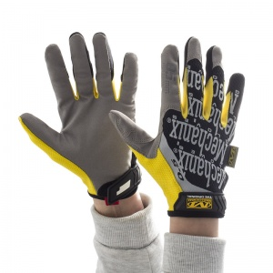 Mechanix Wear Original 0.5 High-Dexterity Yellow Black Gloves