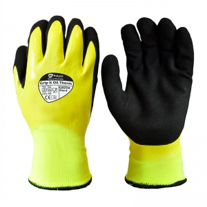 Polyco Grip It Oil Therm Hi-Vis Waterproof GIOTH Gloves