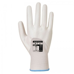 Portwest 3/4 PU Dipped Handling White Gloves A122WH