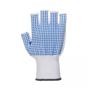 Portwest Fingerless Polka Dot Handling Gloves A114