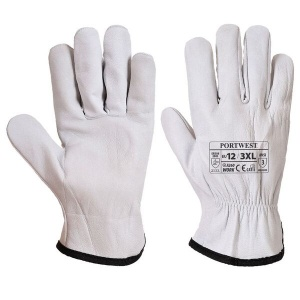 Portwest Oves Driver Leather Gloves A260 - Money Off!