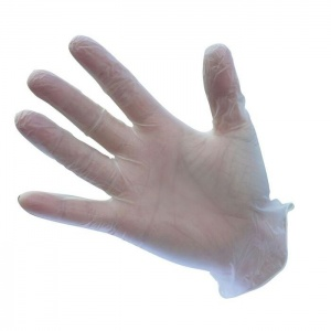 Portwest Powder-Free Vinyl Disposable Clear Gloves A905CL