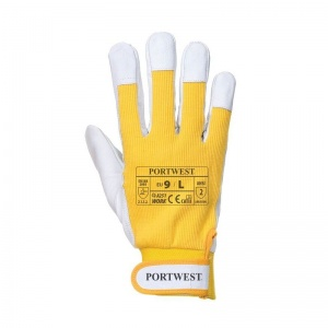 Portwest Tergsus Micro Yellow Gloves A251YE