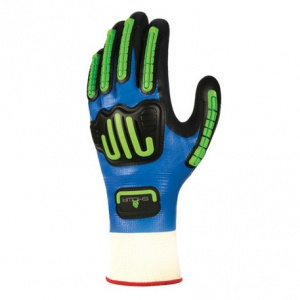 Showa 377-IP Nitrile Foam Anti-Impact Gloves