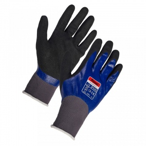 Pawa PG202 Dual Nitrile Coated Oil-Resistant Gloves