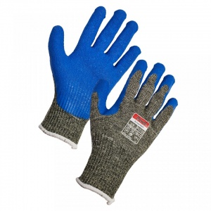 Supertouch PAWA PG520 Latex-Coated Grip Gloves