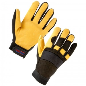 Supertouch Leather Mechanic Gloves 2434
