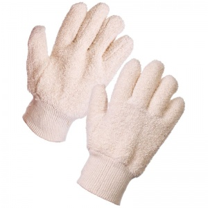 Supertouch Terry Cotton Gloves - Seamless 28163