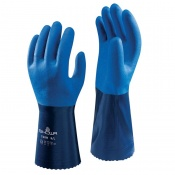 Showa 720R Chemical-Resistant Nitrile-Coated Gauntlets