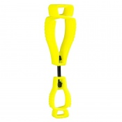 Portwest Metal-Free Yellow Glove Clip A002YE (Pack of 40)