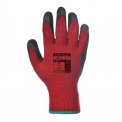 Portwest Latex Red and Black Grip Gloves A100R8