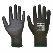 Portwest Black PU Palm Gloves A120BK (Case of 480 Pairs)