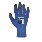 Portwest Thermal Grip Blue and Black Gloves A140B8