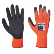 Portwest Thermal Grip Orange and Black Gloves A140OR (Case of 144 Pairs)